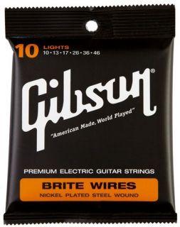 GIBSON Brite Wires - .010 - .046