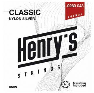 "HENRY'S STRINGS HNSN Classic Nylon Silver - 0280"" - 043"""