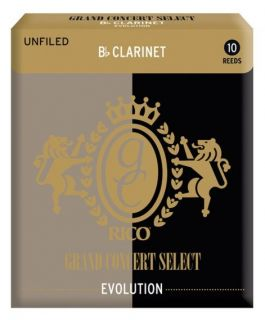 RICO RGE10BCL300 - Grand Concert Select Evolution - Bb Clarinet Reeds 3.0 - 10 Box