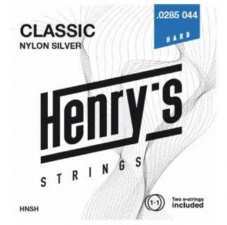 "HENRY'S STRINGS HNSH Classic Nylon Silver - 0285"" - 044"""