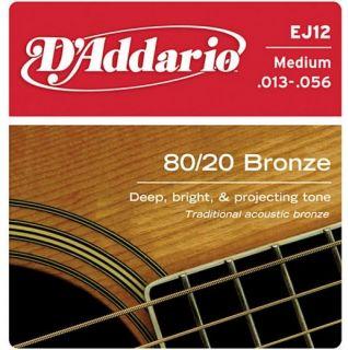D'ADDARIO EJ12 Bronze Light 13-56