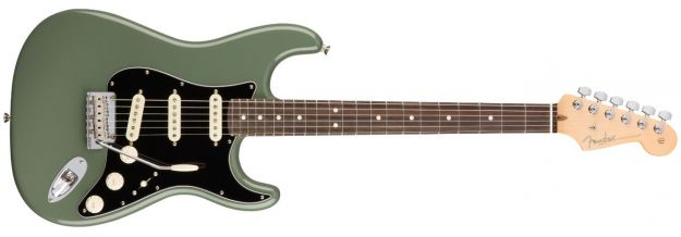 FENDER American Professional Stratocaster Antique Olive Rosewood