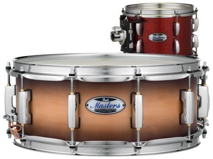 PEARL Masters Maple Complete MCT-1455S Inferno Red Sparkle