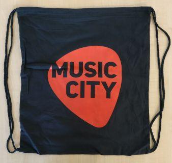 Látková taška s logem Music City
