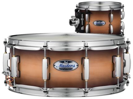 PEARL Masters Maple Complete MCT-1455S Satin Natural Burst