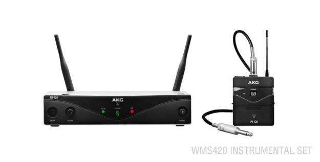 AKG WMS420 Wireless Instrumental Set D