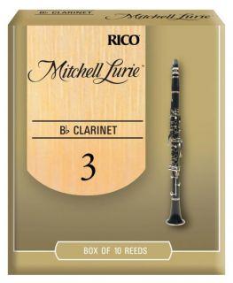 RICO RML10BCL300 Mitchell Lurie - Bb Clarinet 3.0 - 10 Box