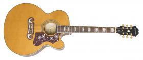 Elektroakustická kytara EPIPHONE EJ-200SCE Vintage Natural