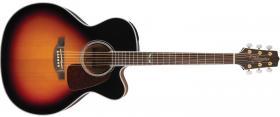 Elektroakustická kytara TAKAMINE GJ72CE, Rosewood Fingerboard - Brown Sunburst