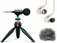 SHURE HOTbundle, MV88+, SE215-CL, AMV88-FUR