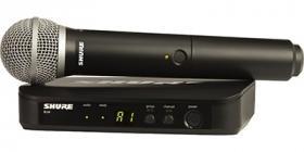 SHURE BLX24E/PG58 K3E 606 - 630 MHz