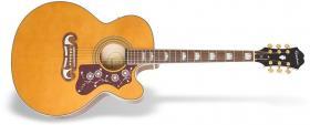 Elektroakustická kytara EPIPHONE MJ-200SCE Mini-Jumbo Vintage Natural