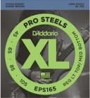 D'ADDARIO EPS165 Pro Steels Reg Light Top/Medium Bottom - .045 - .095