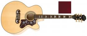 Elektroakustická kytara EPIPHONE MJ-200SCE Mini-Jumbo Wine Red