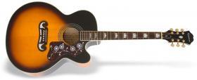 Elektroakustická kytara EPIPHONE MJ-200SCE Mini-Jumbo Vintage Sunburst