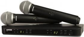 SHURE BLX288E/PG58 K3E 606 - 630 MHz