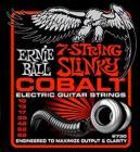 ERNIE BALL P02729 Cobalt 7-string Slinky - .010 - .062