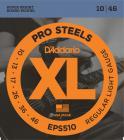 D'ADDARIO EPS510 Pro Steels Regular Light - .010 - .046
