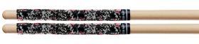 PRO-MARK SR3BLA Black Splatter Stick Rapp