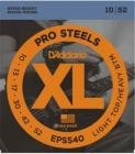 D'ADDARIO EPS540 Pro Steels Light Top/Heavy Bottom - .010 - .052