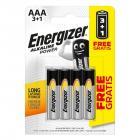 ENERGIZER AAA/4 3+1 zdarma (alkalické)