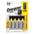 ENERGIZER AA/4 3+1 zdarma (alkalické)