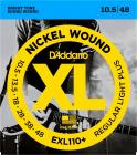 D'ADDARIO EXL110+ Regular Light - .010 - .048