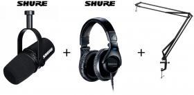 Shure MV7 + 440 + ARM Bundle