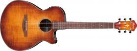 Elektroakustická kytara IBANEZ AEG70-VVH AEG Series - Vintage Violin High Gloss