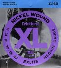 D'ADDARIO EXL115 Blues/Jazz Rock - .011 - .049