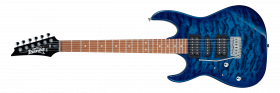 IBANEZ GRX70QAL Transparent Blue Burst