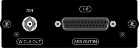 SOUNDCRAFT AES 8in, 8out on sub D, BNC wordclock out pro Si