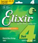 ELIXIR 4 strings NANOWEB Long .040 - .095
