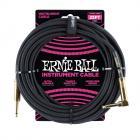 ERNIE BALL P06058 Braided Cable 25 SA Black