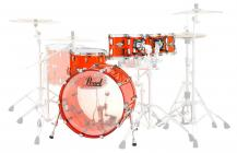 PEARL CRB524P Crystal Beat - Ruby Red