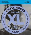 D'ADDARIO EXL116 Medium Top/Heavy Bottom - .011 - .052