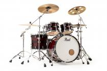 PEARL MRV904XEP/C839 Masters Maple Reserve - Red Burst Triband