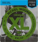 D'ADDARIO EXL117 Medium Top/Extra Heavy Bottom - .011 - .056