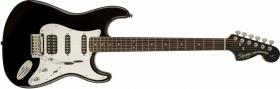 FENDER SQUIER Black and Chrome Standard Stratocaster HSS Black Laurel