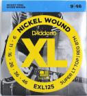 D'ADDARIO EXL125 Super Light Top/ Regular Bottom - .009 - .046