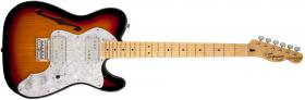 FENDER SQUIER Vintage Modified 72' Thinline Telecaster, Maple Fingerboard - 3 Tone Sunburst