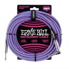 ERNIE BALL P06069 Braided Cable 25 SA Purple