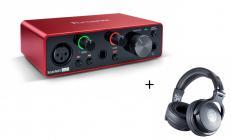 FOCUSRITE Scarlett Solo 3G + Soundeus Fidelity 30 Bundle Set