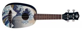LUNA GUITARS Uke Great Wave Pineapple