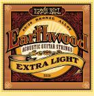 ERNIE BALL P02006 Earthwood 80/20 Bronze Extra Light - .010 - .050