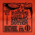 ERNIE BALL P02624 8-String Skinny Top Heavy Bottom 9-80
