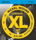 D'ADDARIO EXL180 Extra Super Light  - .035 - .095