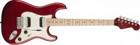 FENDER SQUIER Contemporary Stratocaster HH Dark Metallic Red Maple
