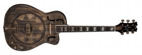 DEAN GUITARS RESCEHB Resonator Thin Body Electric Caw Brass