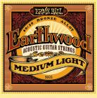 ERNIE BALL P02003 Earthwood 80/20 Bronze Medium Light - .012 - .054